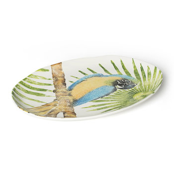 Into The Jungle Parrot Platter