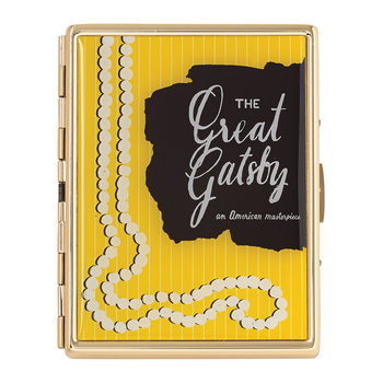 A Way With Words Card Holder - Great Gatsby