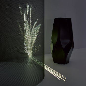 Weave Vase Small - Black