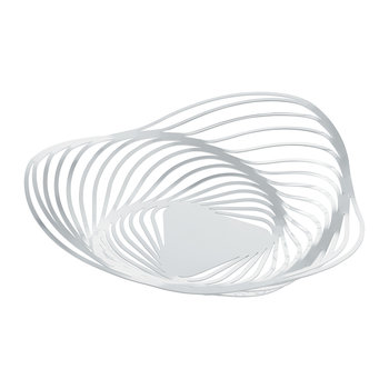 Trinity Fruit Bowl - White