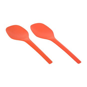 Gusto Salad Servers - Persimmon