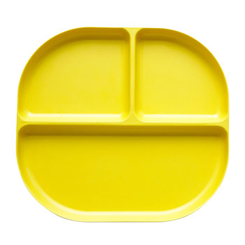 Bambino Divided Tray - Lemon