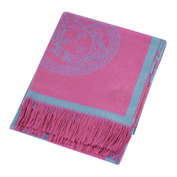 Medusa Rap Throw - Pink/Turquoise