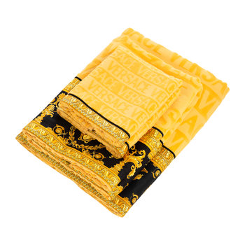 I Loved Baroque Towel - Gold