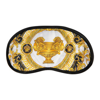 La Coupe Des Dieux Fabric Night Mask - Grey/White/Gold