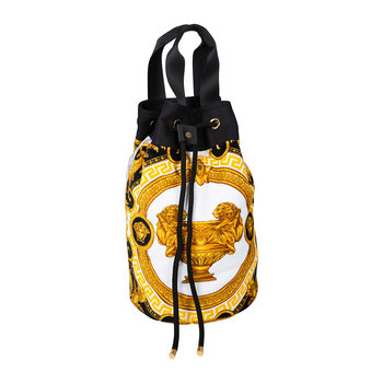 La Coupe Des Dieux Beach Bag - Grey/White/Gold