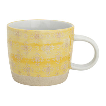 Yellow Lace Mug
