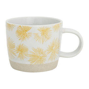 Palm Mug - Yellow
