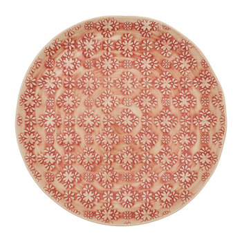 Mosaic Side Plate - Red