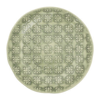 Mosaic Side Plate - Green