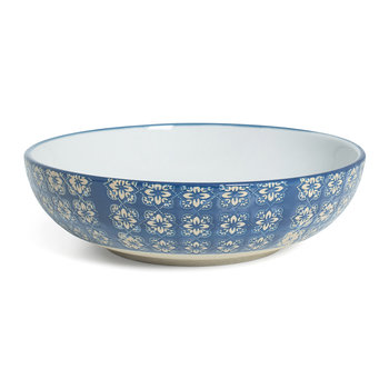 Blue Mosaic Supper Bowl