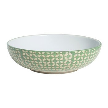 Green Diamond Supper Bowl
