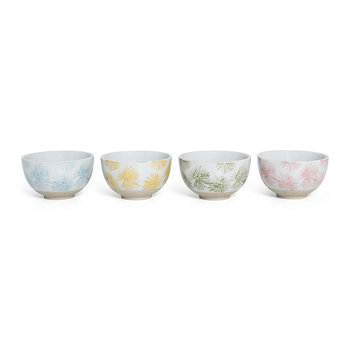Palm Tapas Bowl - Set of 4 - Multicolour