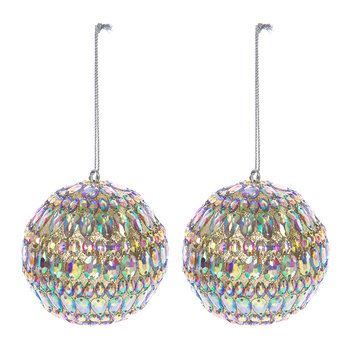 Iridescent Bauble - Set of 2