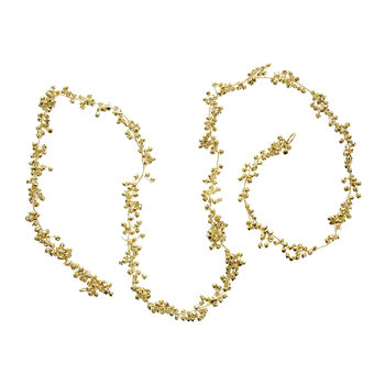Jingle Bell Garland - Set of 2 - Gold