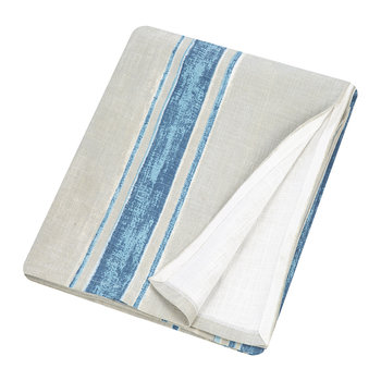 Hacienda Table Cloth - 160x260cm - Blue/Grey