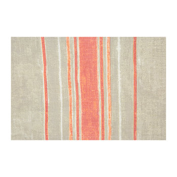 Hacienda Placemat - Coral/Taupe