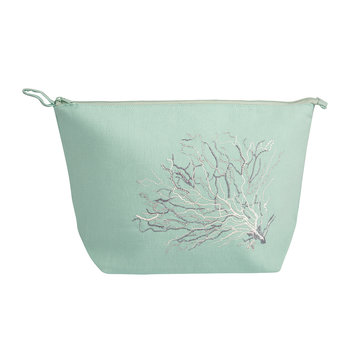 Coral Lagoon Cosmetic Bag