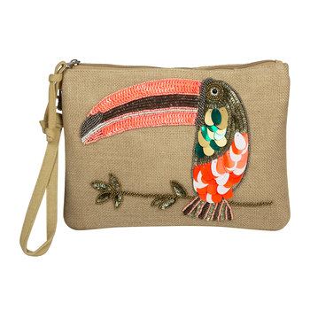 Toucan Clutch Bag