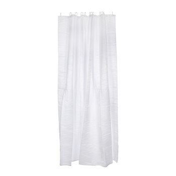 Maison Shower Curtain - White