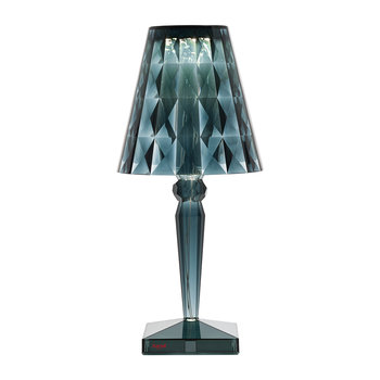 Big Battery Dimmable Table Lamp - Light Blue