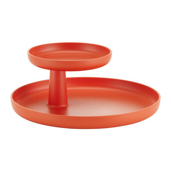 Rotary Tray - Poppy Red