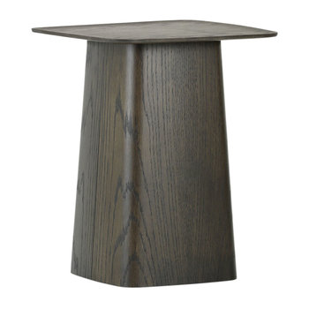 Wooden Side Table - Black