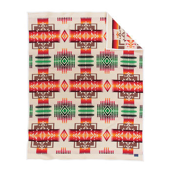 Chief Joseph Blanket - Orange