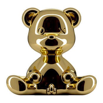 Teddy Boy Metall-Lampe - Gold