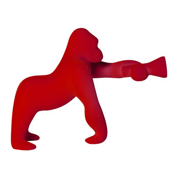 Kong Velvet Lamp - XS - Red