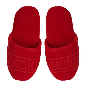 Medusa Classic Jacquard Slippers - Red
