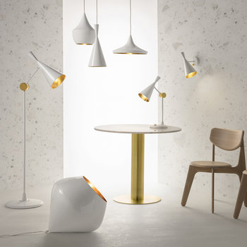 Beat Floor Lamp - White