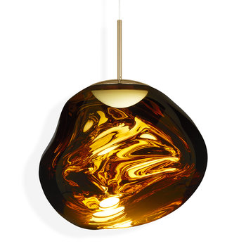 Melt LED Pendant Light - Gold