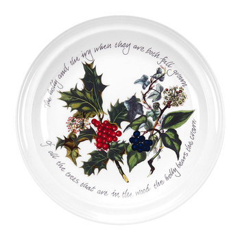 The Holly & The Ivy Dinner Plate