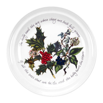 The Holly & The Ivy Cake Plate