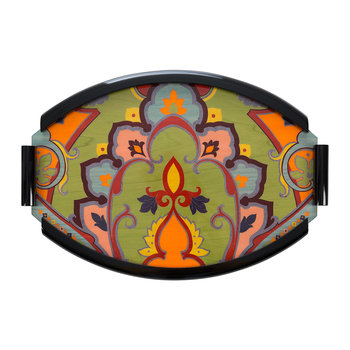 Kuta Inlaid Tray - Orange