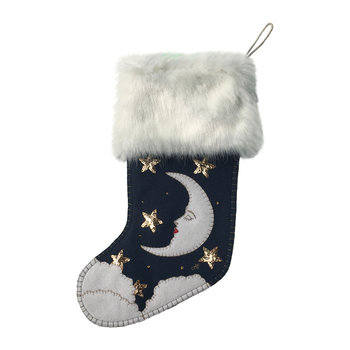 Man in the Moon Stocking