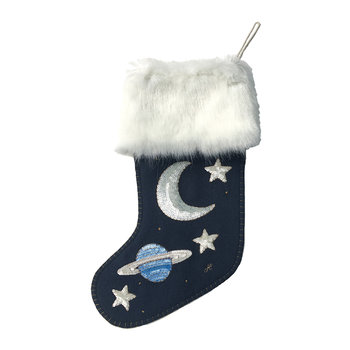 Sequin Galaxy Stocking
