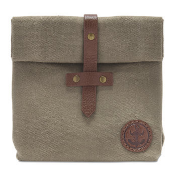Waxed Canvas Roll-Down Ditty Bag