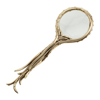 Gold Octopus Magnifying Glass