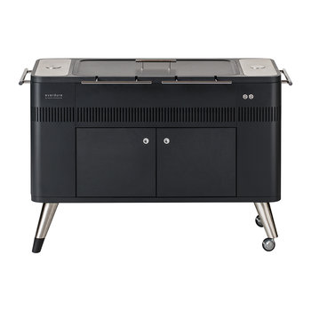 Hub Electric Ignition Charcoal BBQ with Cover