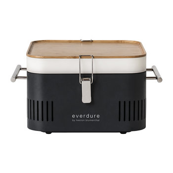 Cube Charcoal Portable BBQ - Graphite
