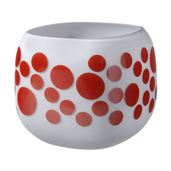 Mono Box Iris Inspiration Vase - Red