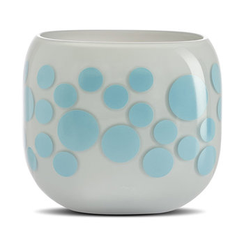 Mono Box Iris Inspiration Vase - Blue