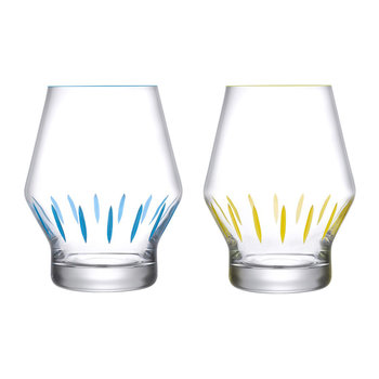 Beak Iris Inspiration Tumbler - Set of 2