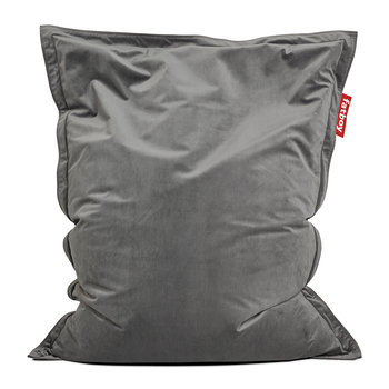 The Original Slim Velvet Bean Bag - Taupe