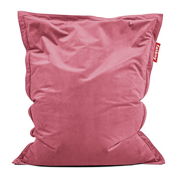 The Original Slim Velvet Bean Bag - Deep Blush