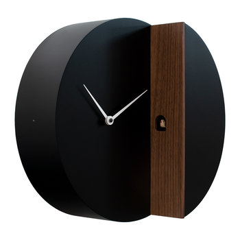 Peek-a-koo Clock - Black