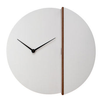 Peek-a-koo Clock - White