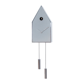 24K Cuckoo Clock - Chrome